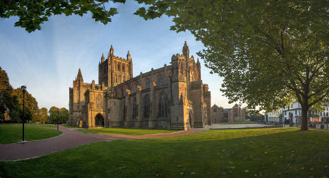 Hereford Cathedral in Engeland