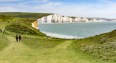 Seven Sisters in East Sussex, Engeland