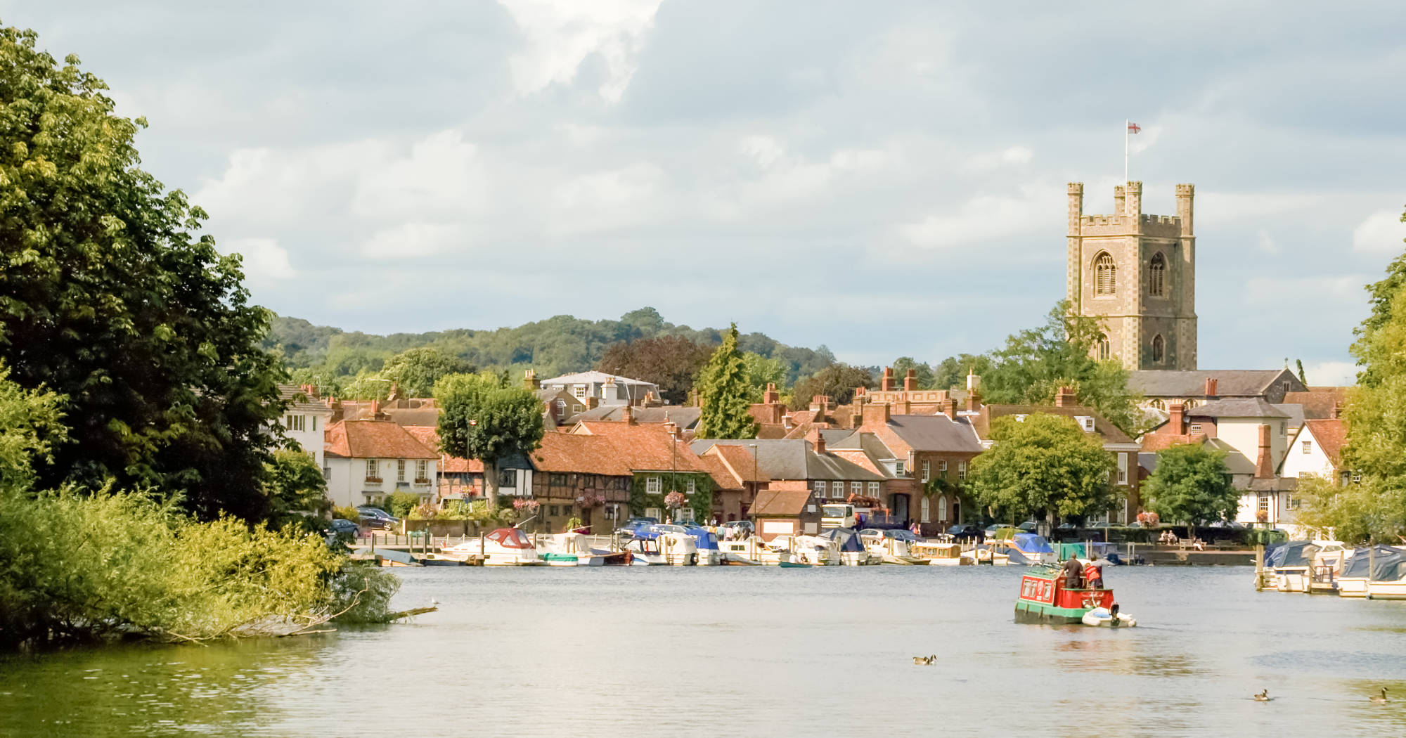 Henley On Thames In Oxfordshire Chilterns