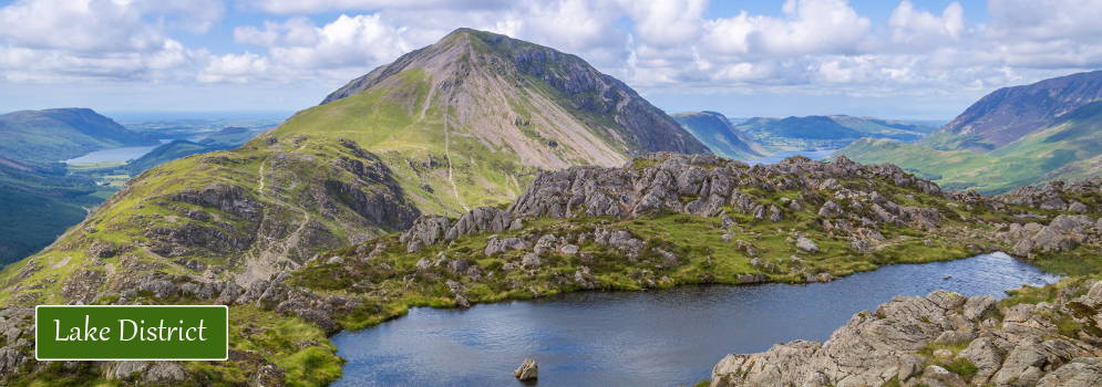 Werelderfgoed Lake District in Engeland