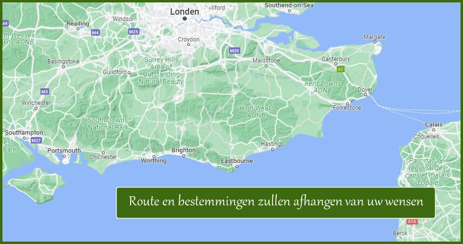 Autovakantie Naar Kent Sussex En Hampshire In Engeland