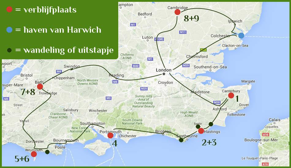 Reisverslag Met De Trein Door Zuid Engeland