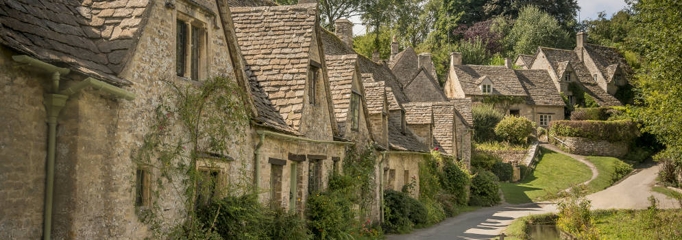 Bibury in Gloucestershire, Cotswolds
