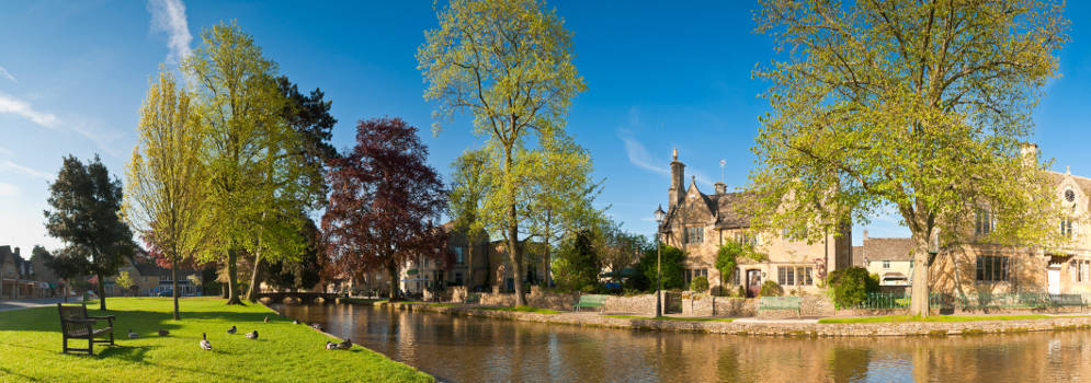 Bourton-on-the-Water in Gloucestershire, Cotswolds