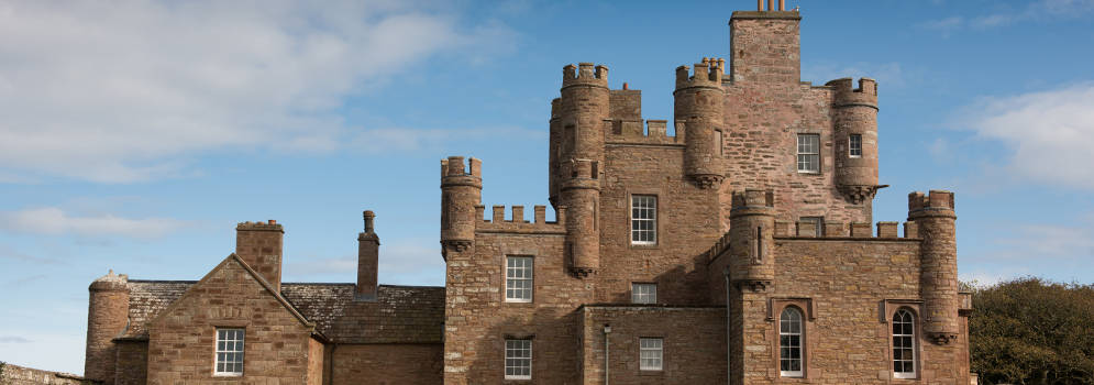 Castle of Mey in Schotland
