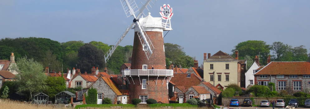 Cley-next-the-Sea in Norfolk, Engeland