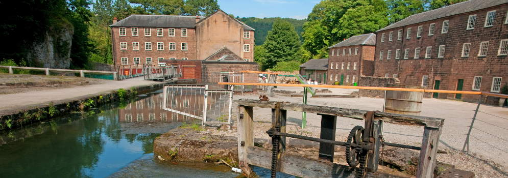 Cromford Mill in Derbyshire