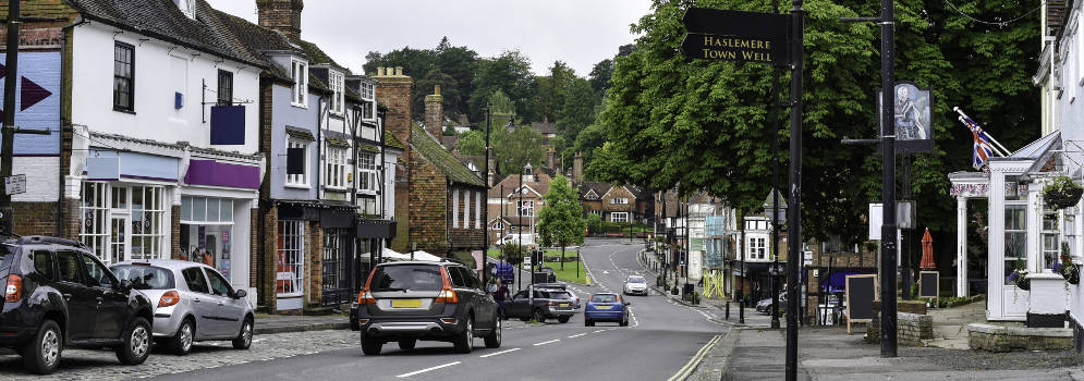 Haslemere in Surrey
