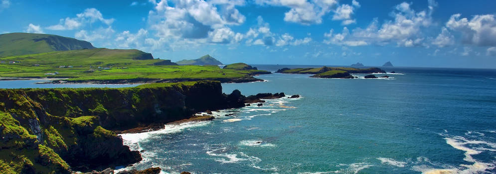 Ring of Kerry in Zuidwest Ierland