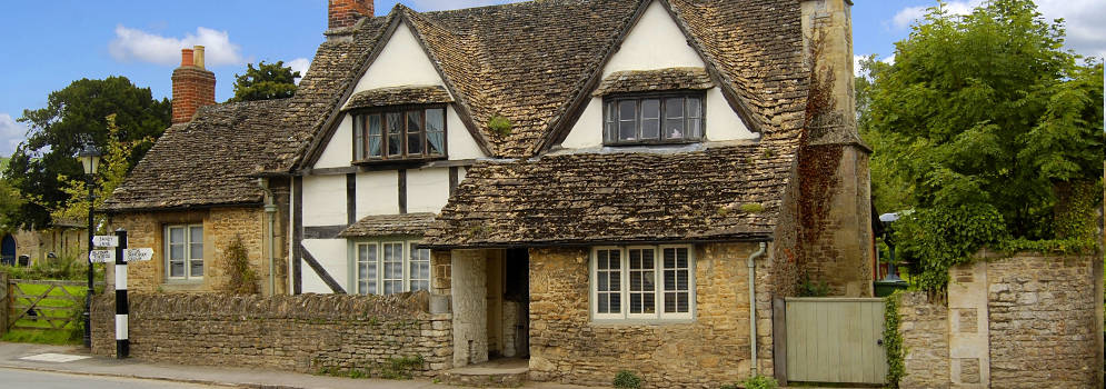 Lacock in Wiltshire, Cotswolds