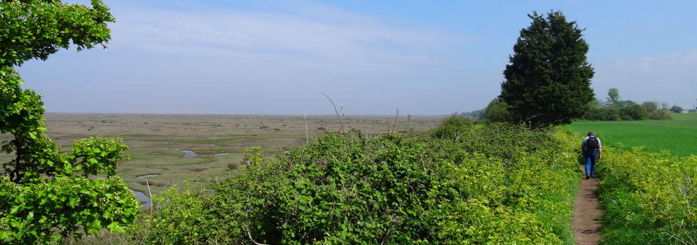 Norfolk Coast in Engeland