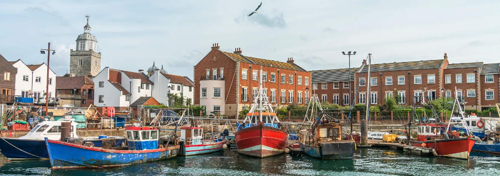 Portsmouth in Hampshire