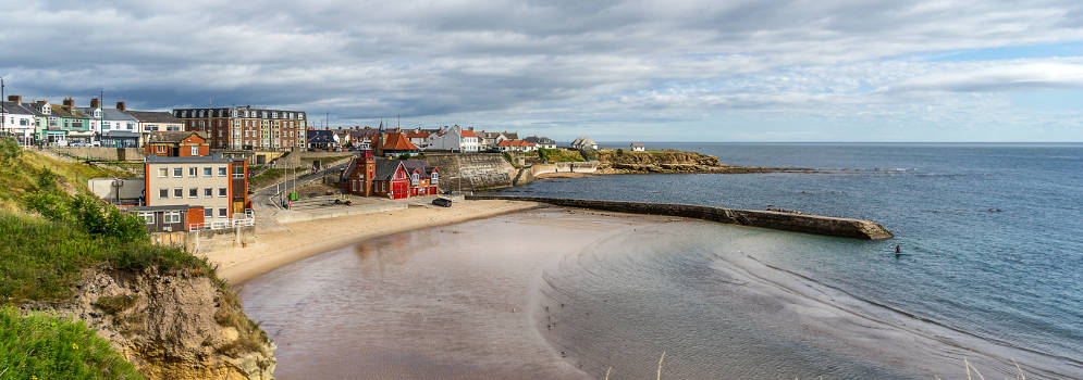 Whitley Bay in Tyne and Wear, Noord Engeland