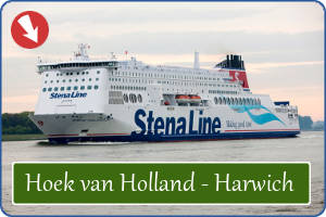 Boot Hoek Holland - Harwich